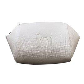 Dior-Pochette Dior Blanc. Neuf-Blanc