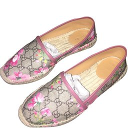Gucci-Espadrilles Gucci Bloom-Rose