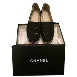 Chanel-Mocassins Chanel-Noir