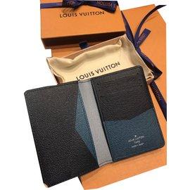 Louis Vuitton-Pocket Organiser Louis Vuitton Supreme collection-Noir