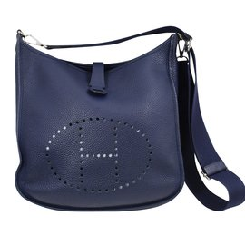 Hermès-Evelyne GM-Bleu