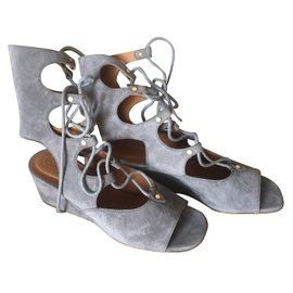 Chloé-Sandals-Grey