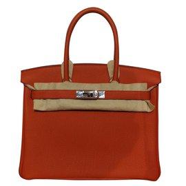 Hermès-Birkin 30-Cuivre