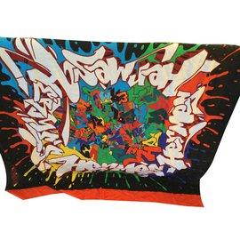 Hermès-Châle-Multicolore