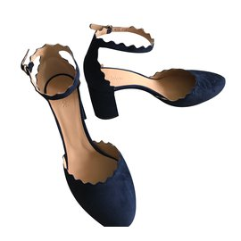 Chloé-Sandals Lauren-Navy blue