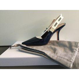 Dior-Escarpins-Bleu