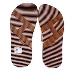 Hermès-Sandales de plage Hermès-Orange