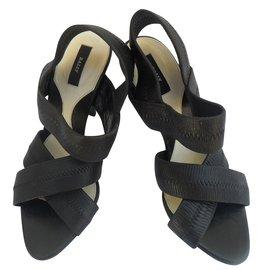 Bally-Sandales-Noir
