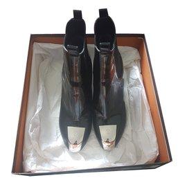 Louis Vuitton-Bottines Cosplay-Noir
