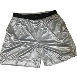 Chanel-Shorts-Silvery