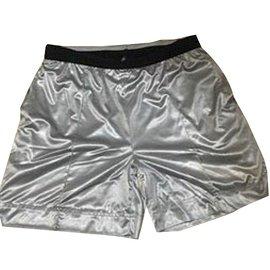 Chanel-Shorts-Argenté