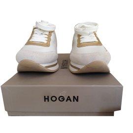 Hogan-Baskets-Blanc