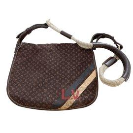 Louis Vuitton-Sac à bandoulière-Ebène