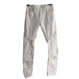 Maison Martin Margiela-Jeans-White