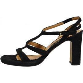 Casadei-Sandals-Black