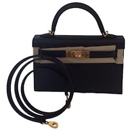 Hermès-Kelly II Mini-Noir