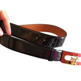Céline-Belt-Black,Golden