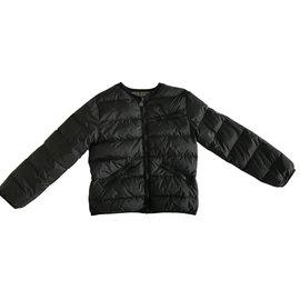Bonpoint-Girl Coats outerwear-Navy blue
