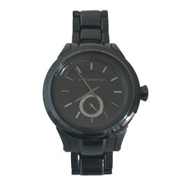 Karl Lagerfeld-Watches-Black