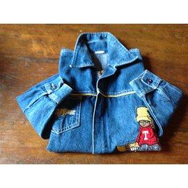 Autre Marque-Boy coats outerwear-Blue