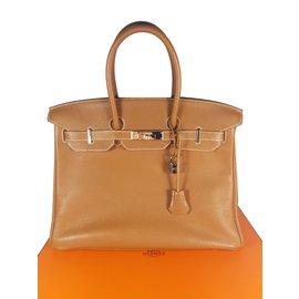 Hermès-Birkin 35-Beige