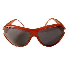 Chanel-Lunettes de soleil-Rouge