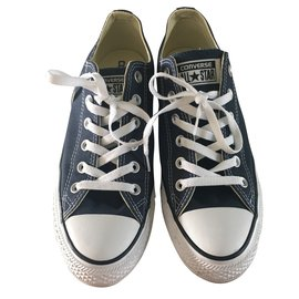 Converse-Sneakers-Navy blue