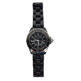 Chanel-Fine watches-Black