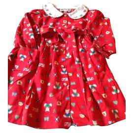 Autre Marque-Kleid-Rot