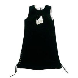 Christian Dior-Dior robe fille-Noir
