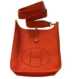 Hermès-Sacs à main-Orange