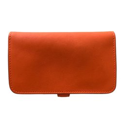 Hermès-Petite maroquinerie-Orange