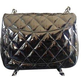 Chanel-Mini flap-Noir
