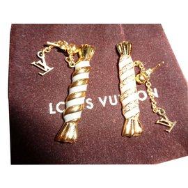 Louis Vuitton-Boucle d'oreilles-Doré