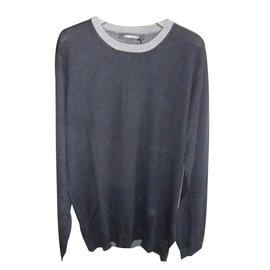 Karl Lagerfeld-Lagerfeld brand new wool sweater-Navy blue
