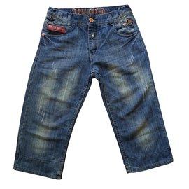 Dsquared2-Boy Shorts-Blue