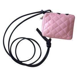 Chanel-Mini sacoche Cambon-Rose