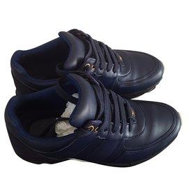 Chanel-Sneaker Chanel-Bleu Marine
