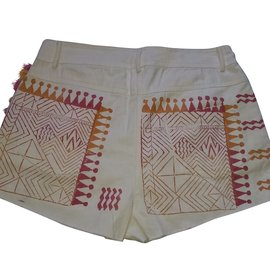 Antik Batik-Kurze Hose-Mehrfarben