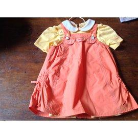 Autre Marque-Robes-Orange