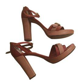 Alberto Fermani-Sandals-Chocolate