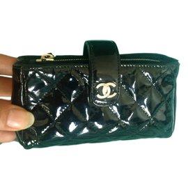 Chanel-Porte monnaie-Noir