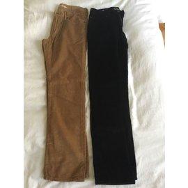 Gap-Pantalons garçon-Noir,Gris,noisette,Bleu Marine