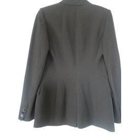 Hermès-Veste blazer-Gris