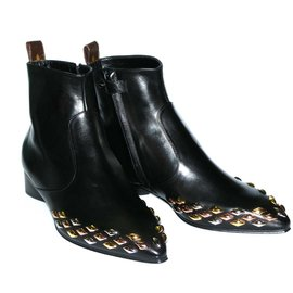 Louis Vuitton-Bottines-Noir