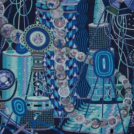 Hermès-Le laboratoire du temps-Bleu