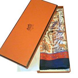 Hermès-Carré-Multicolore