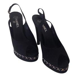 Chanel-Heels-Black,Other