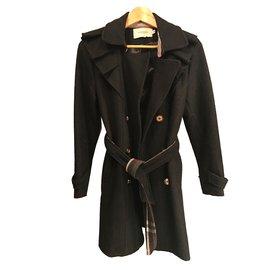 Burberry-Coats, Outerwear-Black
