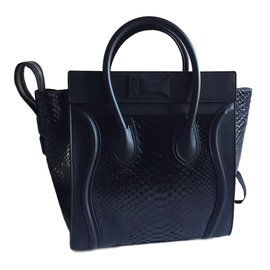 Céline-Handbag-Black